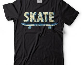 Skateboarding T-Shirt Graphic Skate Tee Shirt