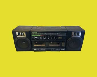 Old School Boombox Panasonic RX-CT800 Vintage Retro
