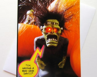 Funny Halloween Cards - Funny Photo Halloween Card - One of a kind