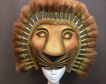 The Lion King Simba wearable headdress