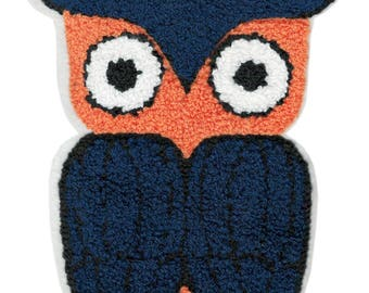 Xxl Extra Large 20cm Chenille Owl Patch Applique