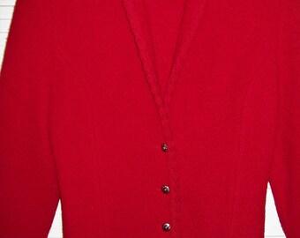 Jacket 12 Vintage Talbot's Boiled Wool , Beautiful 100% Wool , Vintage Find! see details