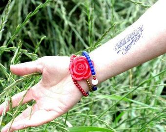 4th July Accessories Temporary body tattoo America body sticker Festival tattoo Water transfer Hand drawn tattoo Independence day Fun tattoo