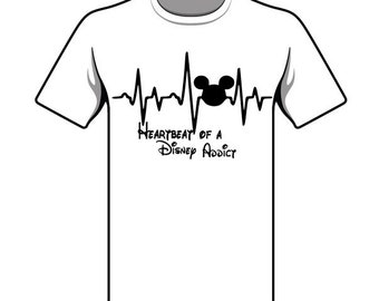 Heartbeat of a Disney Addict - Disney Shirt