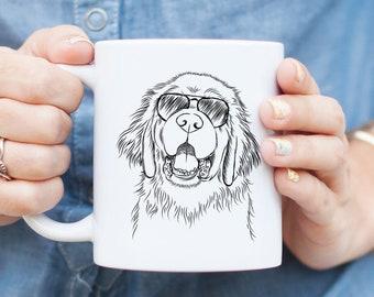 Mo the Newfoundland - Gifts For Dog Owner, Dog Lover, Dog Mug, Dog Mug, Leonberger, Great Pyrenees
