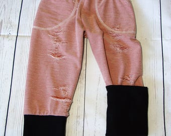 6-9M to 3/4Y Forever Fit Joggers/Grow With Me Pants