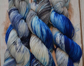 Go Cowboys! Hand Dyed Worsted Weight Yarn