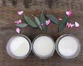 Geranium Sage Homemade Deodorant - Vegan Deodorant - Essential Oil Deodorant - All Natural Deodorant Cream - Pit Paste - 4-oz. Mason Jar
