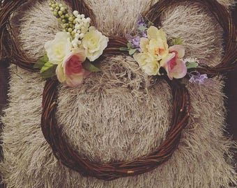 Disney Fan Door Wreath