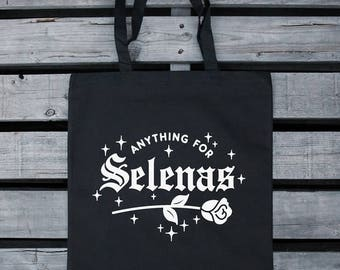 Anything for Selenas - Cotton Canvas Tote bag