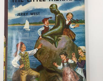 Vintage Happy Hollisters and the Mystery of the Little Mermaid by Jerry West, First Edition, 1960