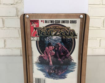 Tarzan of the Apes Comic and Storage Box - Storage box with Edgar Rice Burroughs Comic Book included