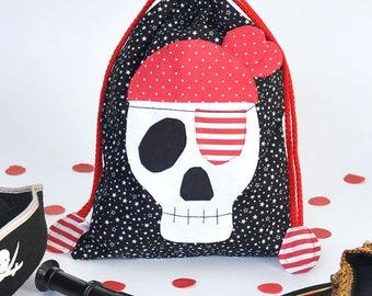 Pirate Skull Bag