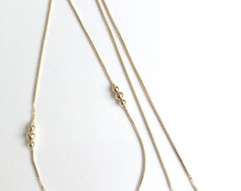 Lariat necklace gold, Bolo necklace gold toggle slide chain Y necklace choker, Y shaped adjustable necklace Long chain necklace, Y collier