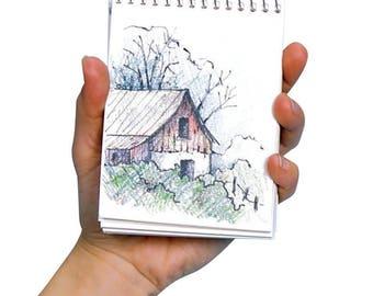 7 mini sketch pads
