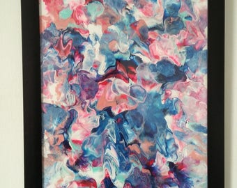 Candy - Abstract paint / 54cm x 37cm