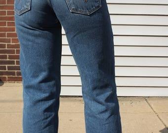 Vintage Levi crop jeans