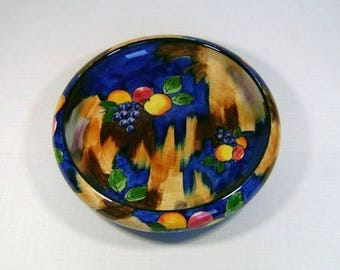 Tunstall Pottery 'Autumn' Fruit Bowl