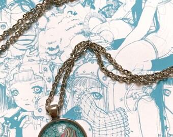 Sucker Punch- Handmade Necklace Pendant