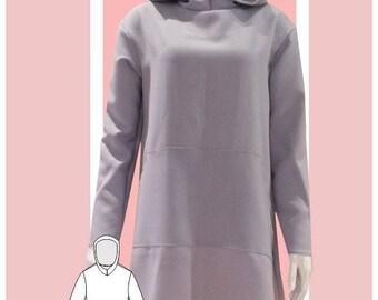 Hoodie Dress Sewing Pattern