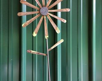 Spoon Handle Flower Garden Stake