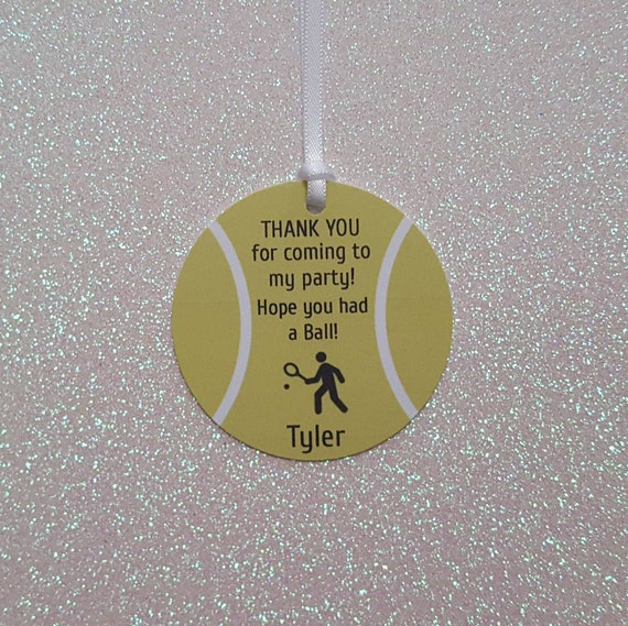 Tennis party favor tags sports gift tags tennis theme birthday il570xn negle Image collections