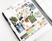 Summer Vibes // MINI Weekly Planner Kit (Glossy Planner Stickers)