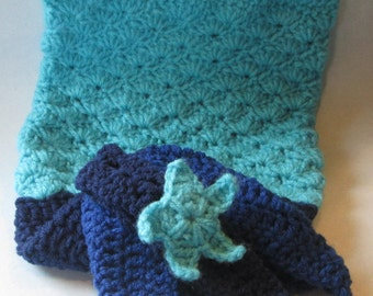 Crochet, Baby Mermaid Tail, Handcrafted, Photo Prop, Baby Mermaid Costume, Baby Accessories, Little Mermaid Tail, Great Baby Shower Gifts