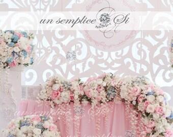 Chiffon Table Skirt  / Extra  Long Table Skirt