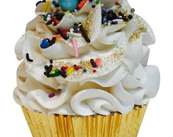 Vanilla Cupcake - Cupcake Bath Bomb