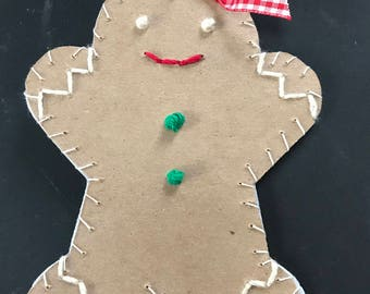 Large Gingerbread Ornament 1 2017