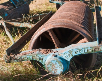Farm Machinery Digital Download Photograph