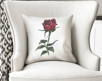 Fashion pillow, Floral pillow,Rose pillow, Throw pillow, Floral pillows, Floral throw pillow, Roses pillow, Designer pillow, Floral decor