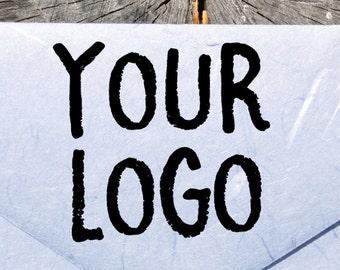 Custom Logo Stamp - Custom Rubber Stamp with Logo - Logo Custom Stamp - Business Logo Stamp