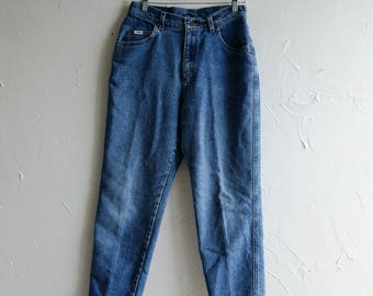 Lee Jeans 28x30 Mommy Jeans 80s 90s Mom High Rise High-Waist Jeans Vintage Mom Jeans Vintage Denim Women's
