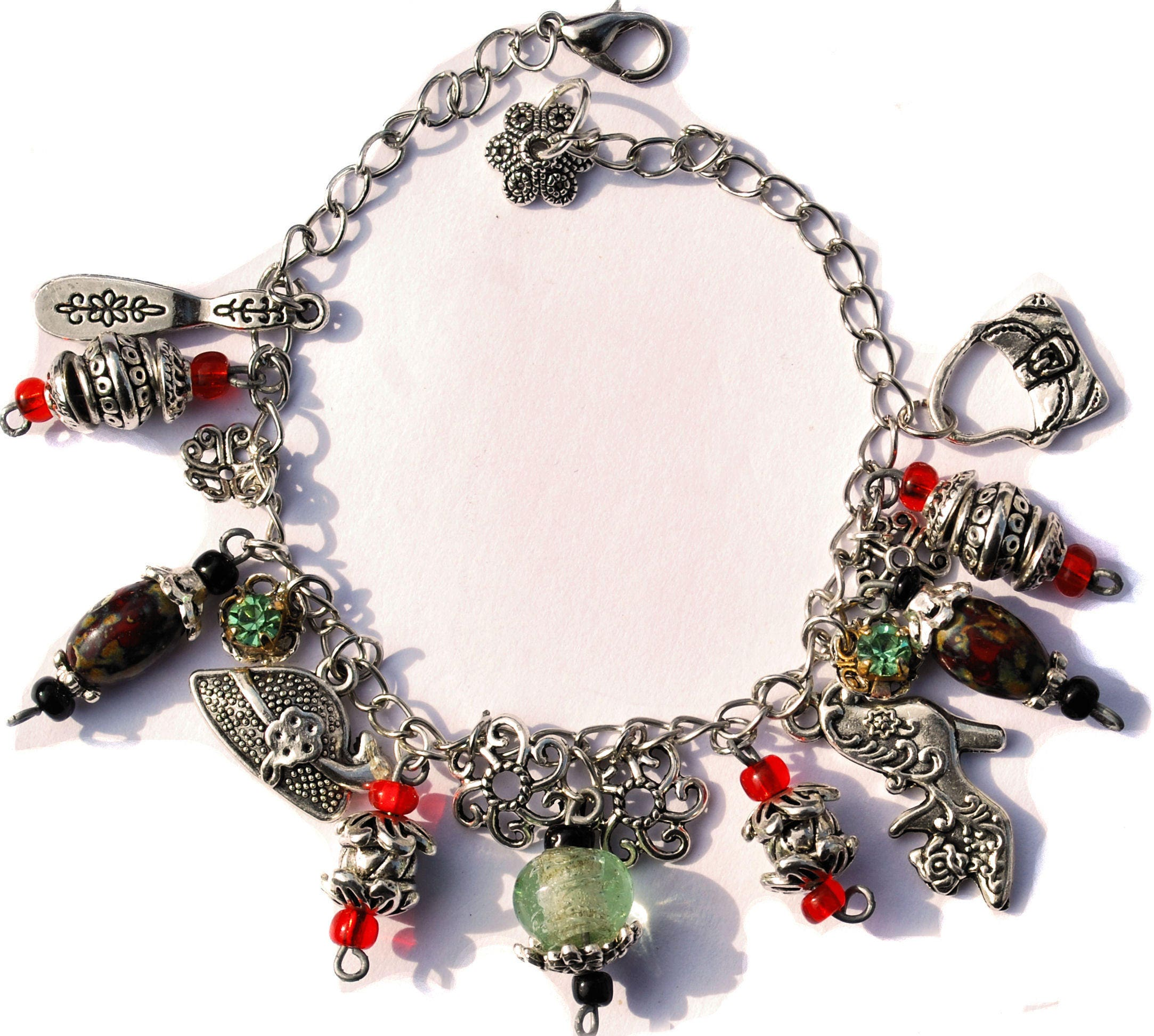 exotic broad product theresa tea silver bracelet apparel plate
