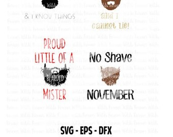 Beard SVG Bundle - Beard clipart - Beard cut files - Beard eps - Beard dfx - for cricut
