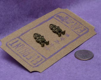 Quirky Robot Post Earrings