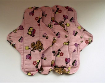 Cloth Sanitary Packages For Moderately Strong Menstruation * Includes 4 Hygiene Pads * Cloth Pads