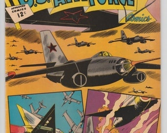U.S. Air Force #24 1962 Silver Age Comic Book 1960s Charlton Comic Group