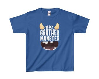 Youth Big Brother Monster T Shirt  Special Edition Multiple Colours Available  Limited Quantities