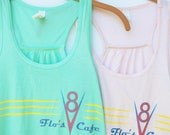 Flo's V8 Cafe - Flowy Tank // original design by Brand By You // life is a highway, life could be a dream, cars land radiator springs