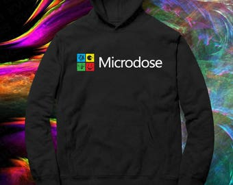 Microdose LSD Blotter Art Hoodie
