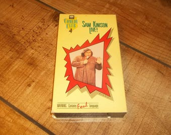 SAM KINISON Live VHS Video Cassette Tape Standup Special 1987 Stranger In This Town Tour