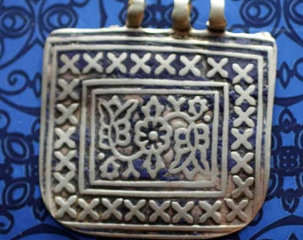 Old Multan Meenkari Enamel Tribal Pendant