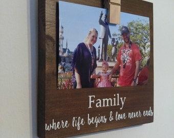 photo holder - family