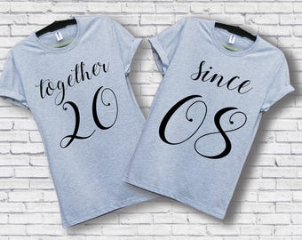 Together since shirts / Together since / Together since tshirts / Together since shirt / Together since t shirts