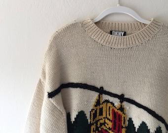 DKNY Skiing Sweater