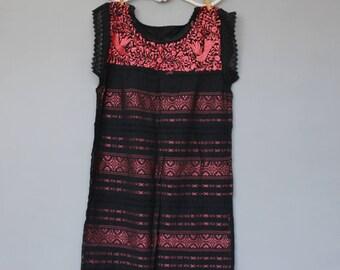 Mexican dress - Embroidery - handmade - Paloma dress