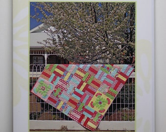 Rosie's Garden a quilt pattern.